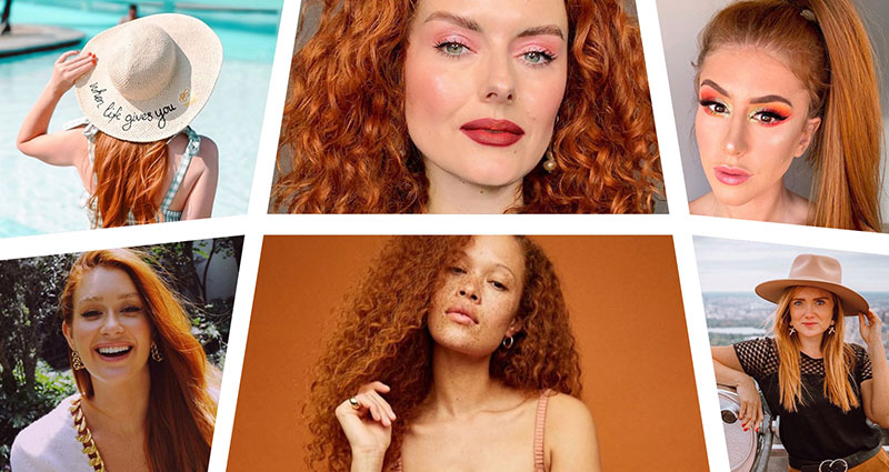 7 Influencers to follow this National Love Your Red Hair Day