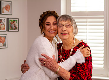 Stacey Solomon and grandma